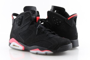 Air Jordan Multi Color Black/Infrared Retro 6's Shoes