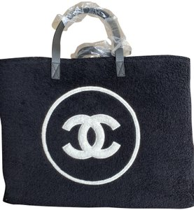 Chanel Tote and Towel set