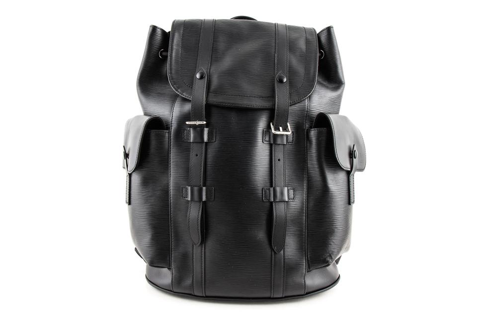 Louis Vuitton Christopher Pm Black Epi Leather Backpack - Tradesy f2958035d0976