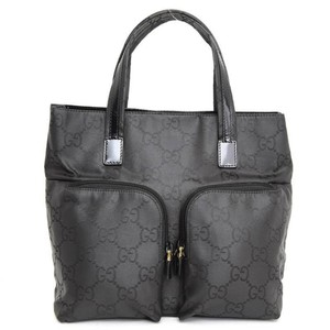 7bbb6134a78 Gucci Shopper Soho Marmont Sylvie Ophidia Tote in Black