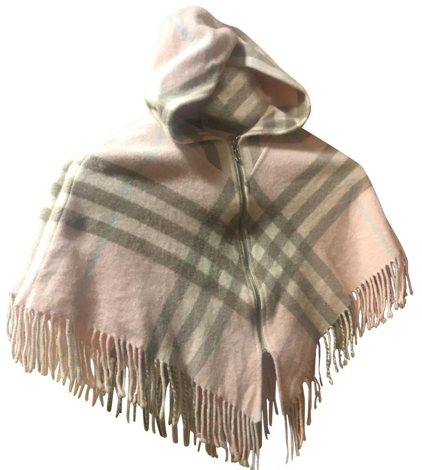 Burberry Pink Poncho Cape Size OS (one size) - Tradesy 71cec40d42f4