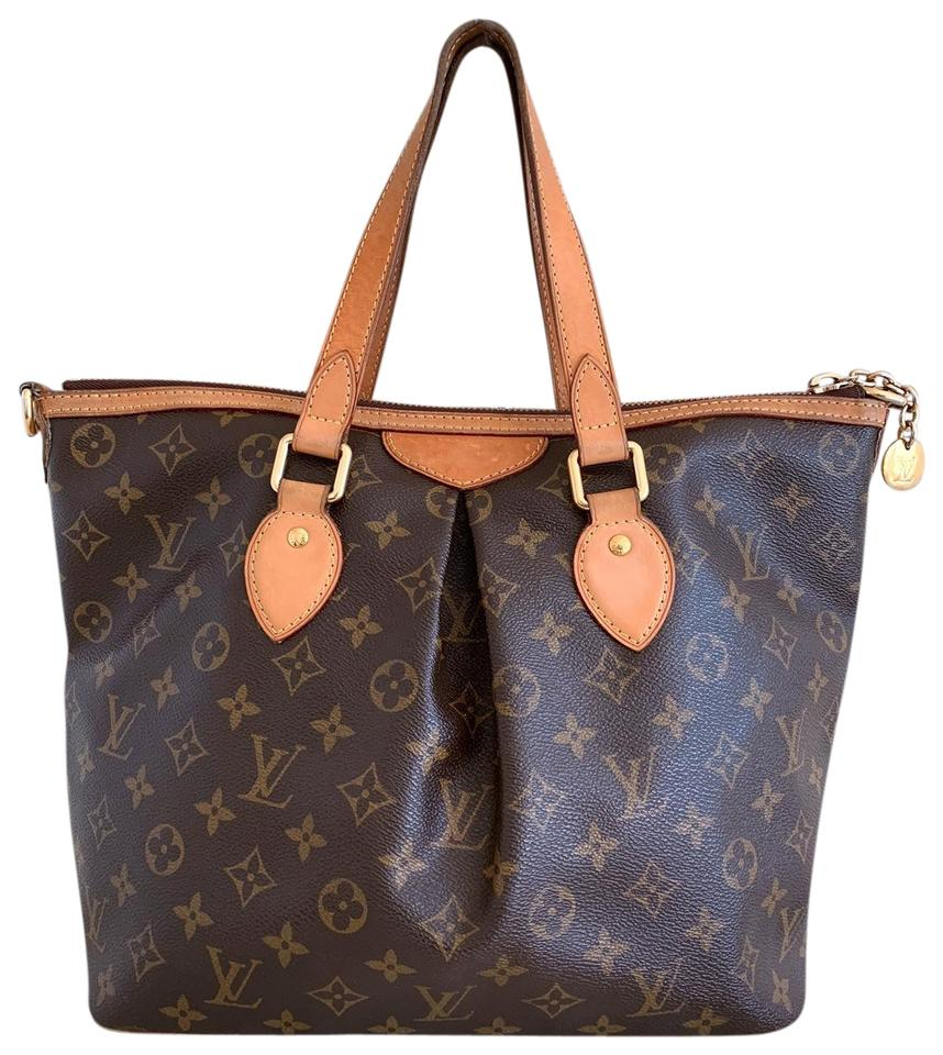 e33949297517 Louis Vuitton Monogram Palermo Pm Canvas Satchel in brown Image 0 ...