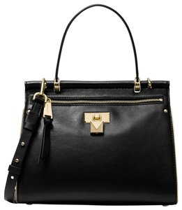 Michael Kors Leather 30h8gi2s2l Satchel in Black