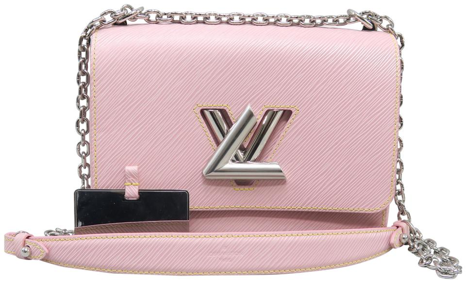 Louis Vuitton Twist Mm Rose Ballerine Epi Shoulder Bag - Tradesy ccc5fcfa9ee6a