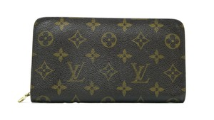 Louis Vuitton Authentic Louis Vuitton Porte Monnaie Zippy Wallet LV M61727