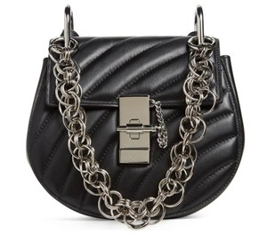 Chloé Drew Quilted Chain Crossbody Shoulder Bag