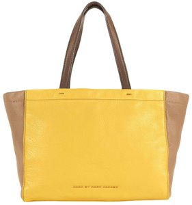 0fb4a2db87 Marc by Marc Jacobs Marcbymarcjacobs What s The T Tote in Canary Yellow  Multi