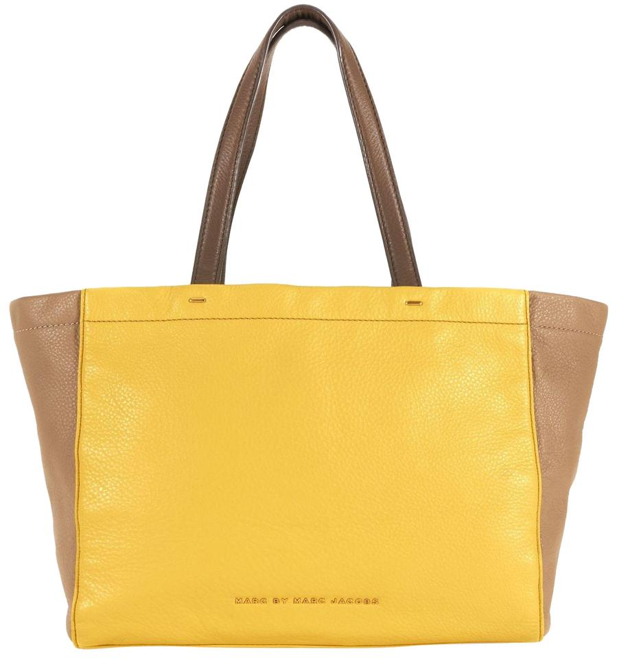 730b82f81489 Marc by Marc Jacobs Marcbymarcjacobs What s The T Tote in Canary Yellow  Multi Image 0 ...