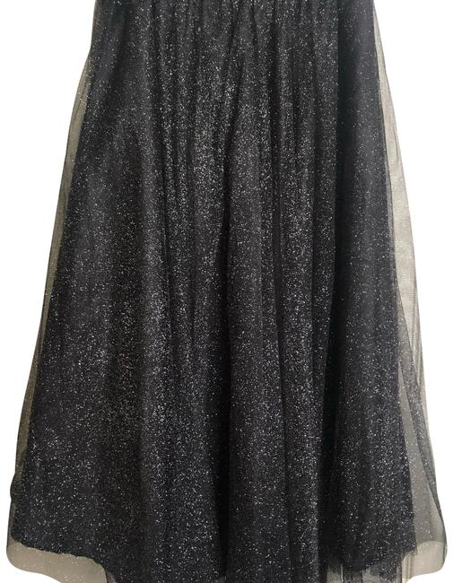 Item - Black/Silver 1 Skirt Size 4 (S, 27)
