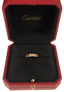 Cartier love wedding band