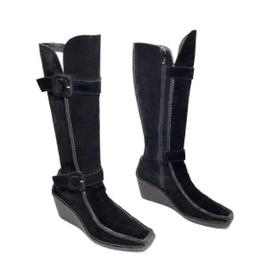 5739a19ac86 Black Pons Quintana Boots   Booties - Up to 90% off at Tradesy