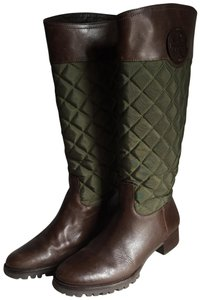 Tory Burch brown/green Boots