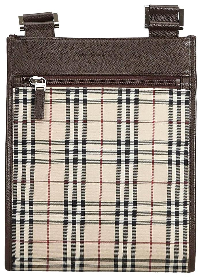 Burberry Plaid Crossbody Brown Nylon Shoulder Bag - Tradesy c07a986ee9fe9