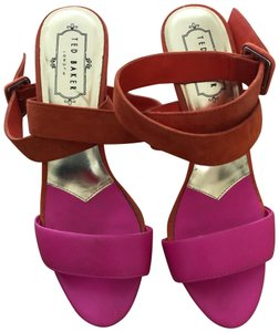 23c9be83fea982 Ted Baker Pink and Orange Formal Shoes Size US 7 Regular (M