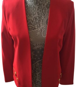Marc Bouwer Red Blazer