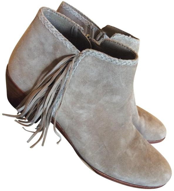 Item - Putty Grey Tan Suede Paige Boots/Booties Size US 7.5 Regular (M, B)