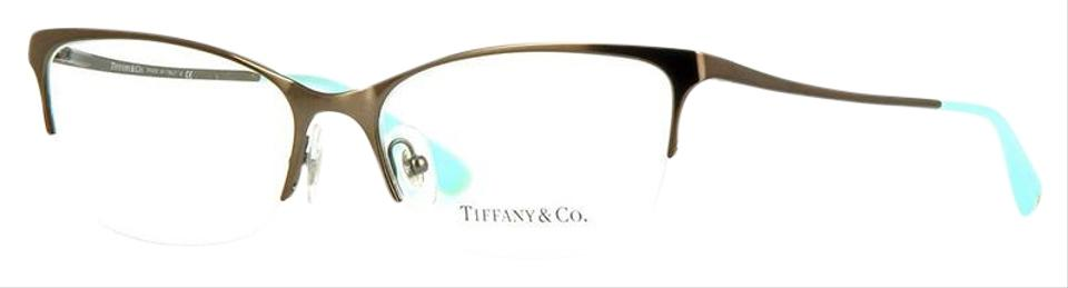 e698aaded6 Tiffany   Co. Matte Brown Frame Demo Customisable Lens Tf1089 6081 ...