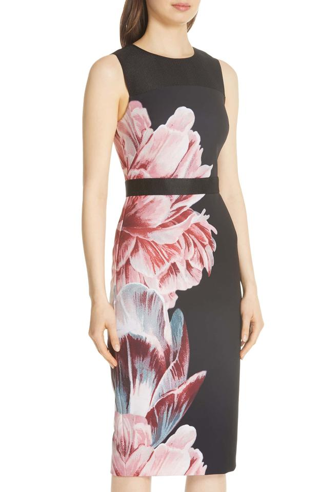 178d984b260c Ted Baker Multi Color London Xanadu Tranquility Sheath (Us 8-10) Mid-length Formal  Dress Size 8 (M) - Tradesy
