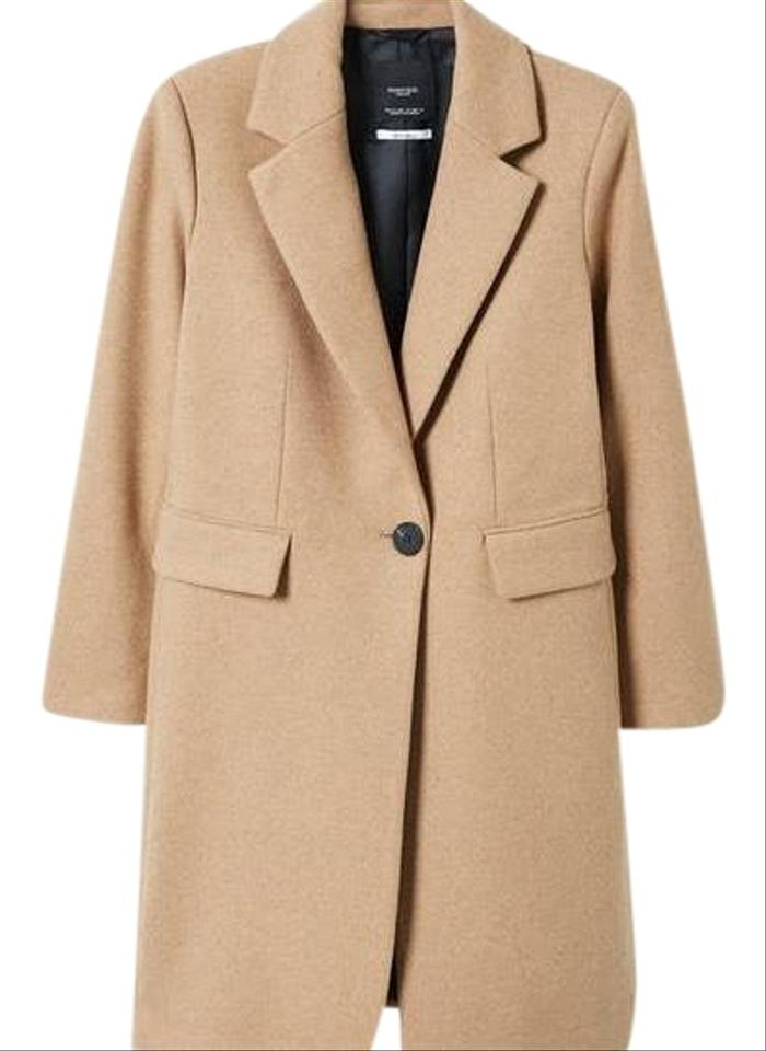 Mango Structured Wool Small Coat Size 4 (S) - Tradesy 039c448c0