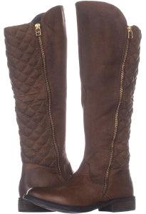 9e2f3dd31ac Steve Madden Brown Northsde Quilted Tall Motorcycle Zip-up 226 Cognac Boots  Booties.  91.99  200.99. US 7.5. Steve Madden Brown Boots