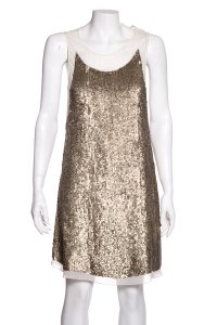 Gryphon short dress Gold on Tradesy