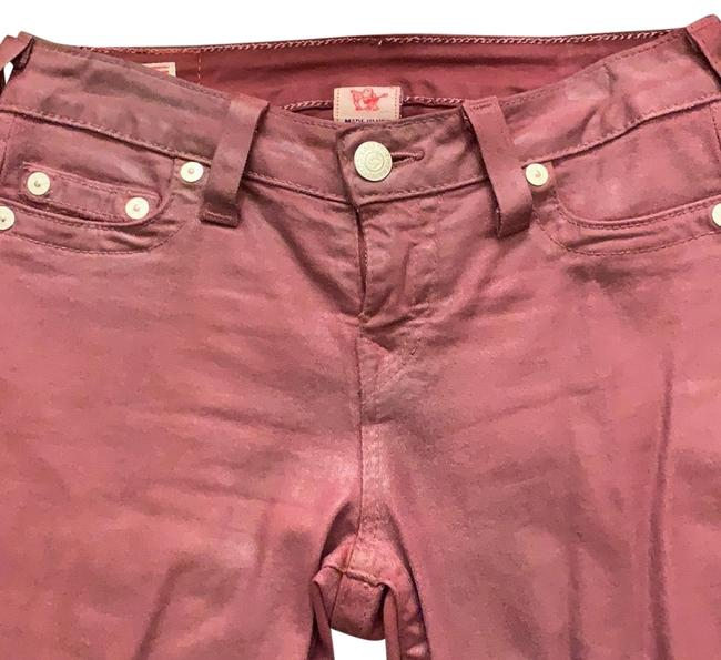 Item - Red Coated Halle Skinny Jeans Size 4 (S, 27)