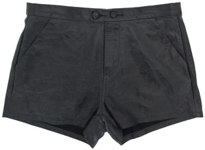 FRAME Dress Shorts Black