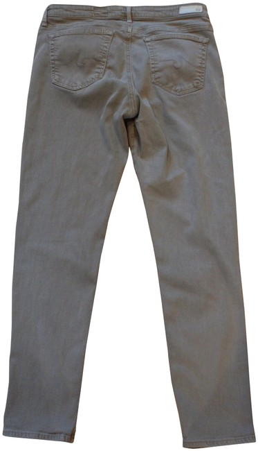 Item - Gray Light Wash The Stevie Ankle In Skinny Jeans Size 31 (6, M)