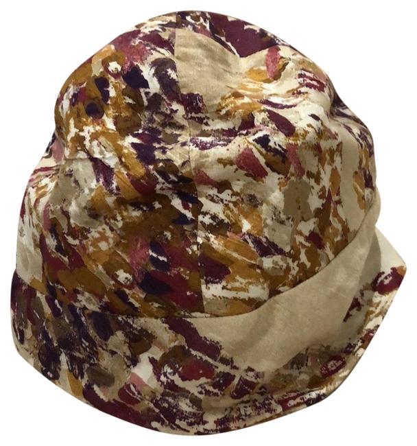 Item - Beige Berry & Gold 2298-1399 Sofia Hat
