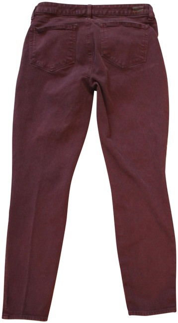 Item - Purple Verdugo Ankle In Plum Skinny Jeans Size 30 (6, M)