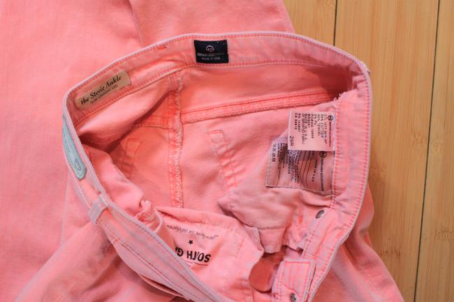 Pink The Stevie Ankle Skinny Jeans Size 29 (6, M) Pink The Stevie Ankle Skinny Jeans Size 29 (6, M) Image 3