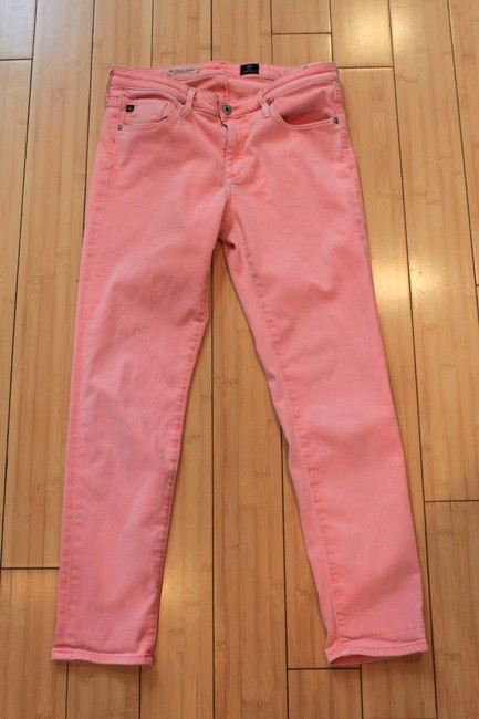 Pink The Stevie Ankle Skinny Jeans Size 29 (6, M) Pink The Stevie Ankle Skinny Jeans Size 29 (6, M) Image 5