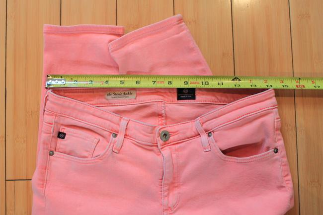 Pink The Stevie Ankle Skinny Jeans Size 29 (6, M) Pink The Stevie Ankle Skinny Jeans Size 29 (6, M) Image 6