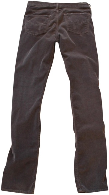 Item - Gray Corduroys In Straight Leg Jeans Size 29 (6, M)