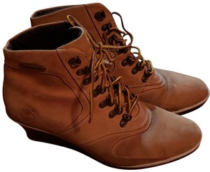 Timberland Tan Wedges