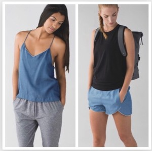 Lululemon 2-pc SET WAKE & FLOW CAMISOLE & SHORTS