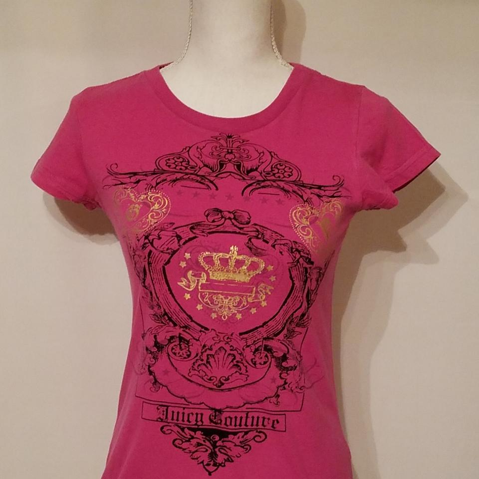 4c9402a0 Juicy Couture Pink Tee Shirt Size 6 (S) - Tradesy