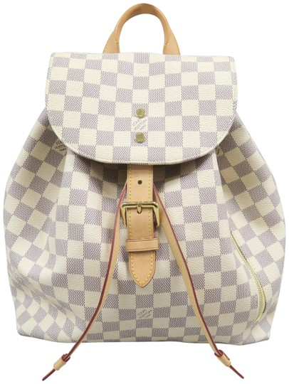 Preload https://img-static.tradesy.com/item/24651871/louis-vuitton-sperone-damier-azur-white-canvas-backpack-0-2-540-540.jpg