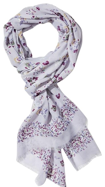 Item - Soothing Lavender Mixed Garden Scarf/Wrap