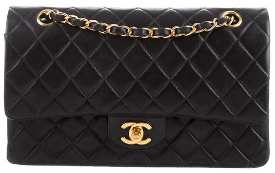 Preload https://img-static.tradesy.com/item/24651962/chanel-255-reissue-classic-double-flap-quilted-ghw-medium-a01112-cross-body-black-lambskin-leather-s-0-4-540-540.jpg