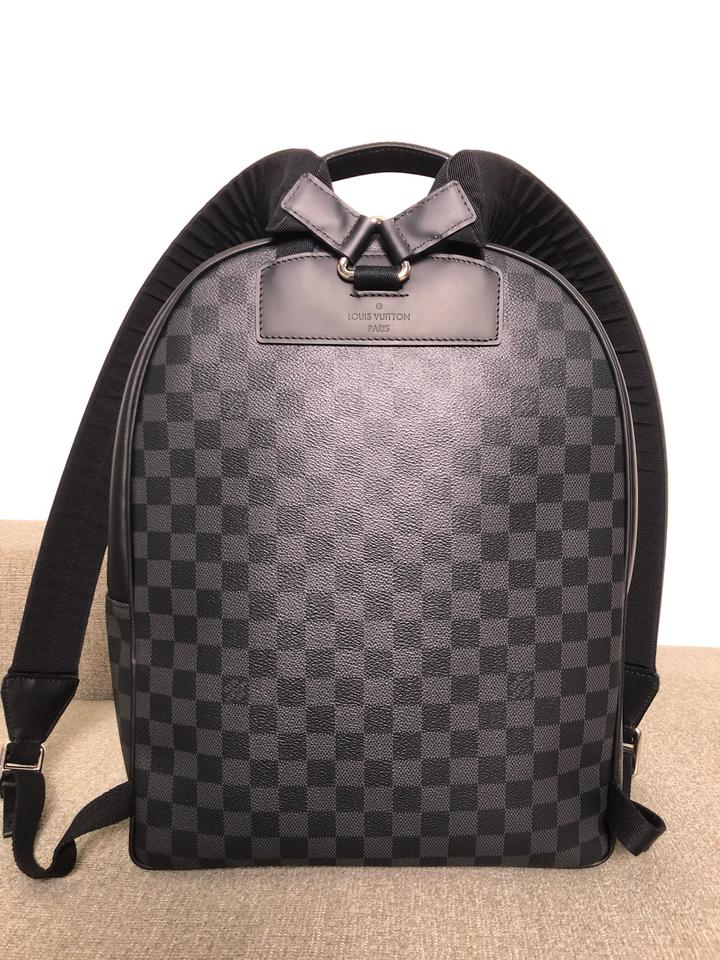 Louis Vuitton Like New Josh Damier Graphite Backpack - Tradesy 7c621f6cc0