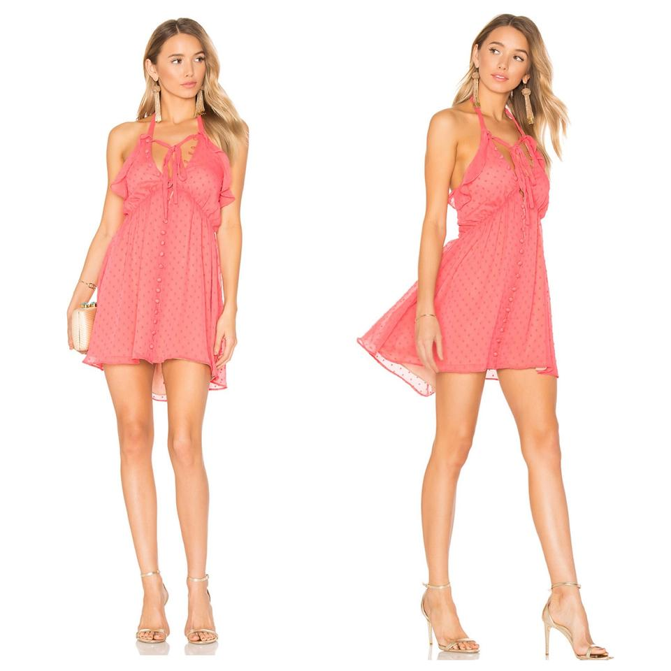4b1da36cc96f For Love & Lemons Pink Tarta Short Casual Dress Size 8 (M) - Tradesy