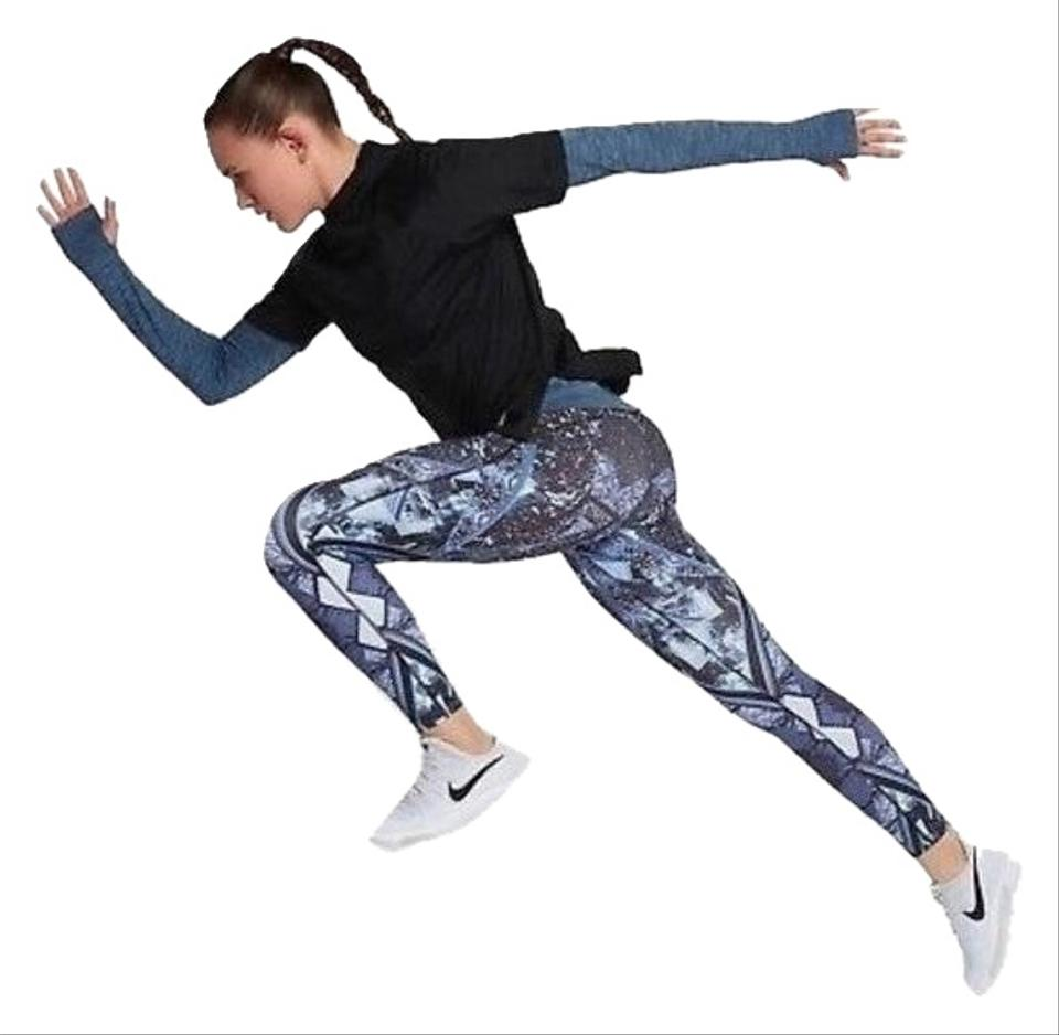 698581bec8871 Nike Multi-color Power Epic Lux Running Xs 874745-465 Activewear Bottoms