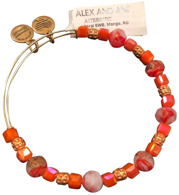 Item - Coral One Beaded Expandable Wire Bracelet