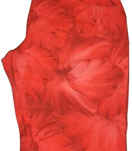 United Colors of Benetton Straight Pants Red