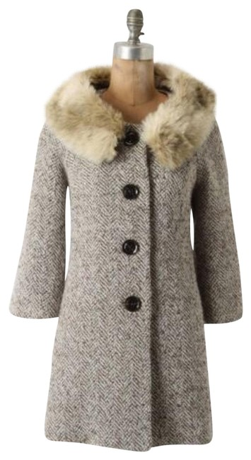 Item - Brown Wool Tabitha Coat Size 4 (S)