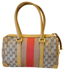 Gucci Satchel in brown/red