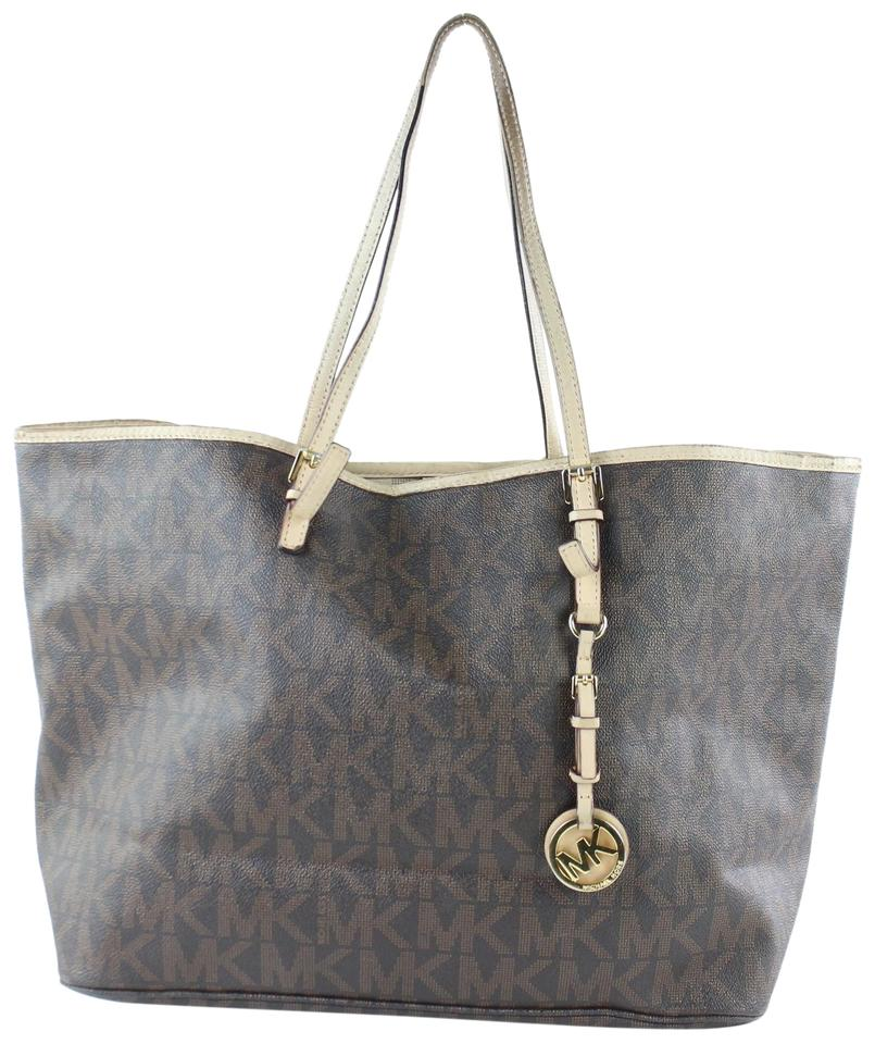 747ce497a3f0 Michael Kors Neverfull Goyard Saint Louis Shopper Shopping Monogram Tote in  Brown Image 0 ...