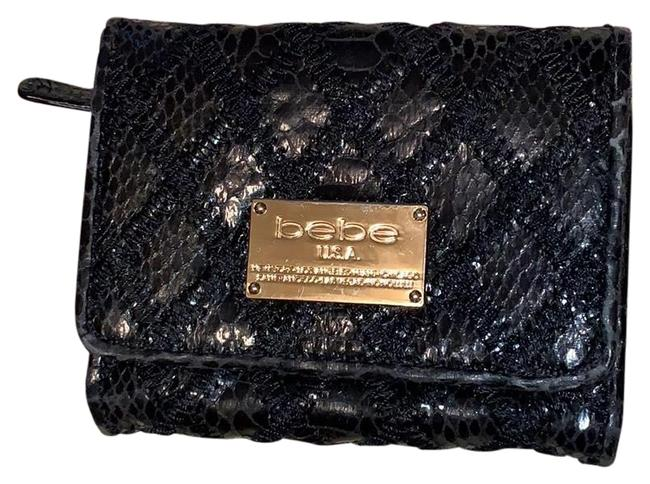Item - Black Bifold with Zip Pouch Wallet