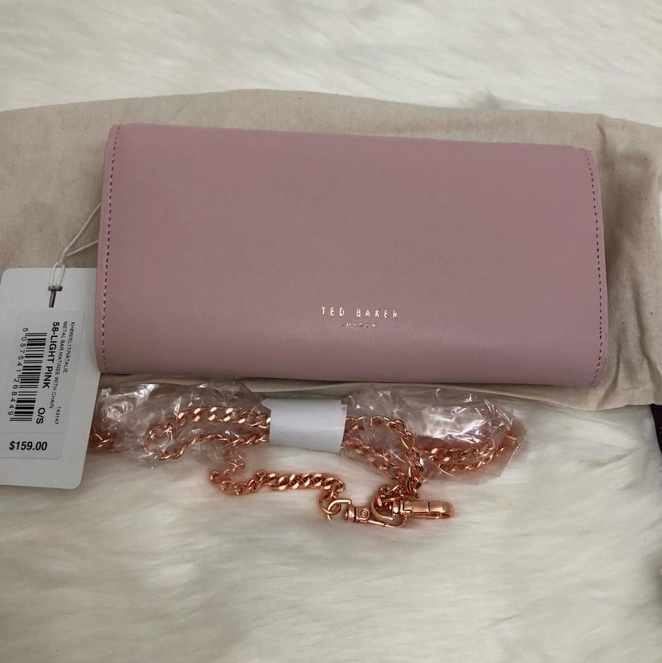 1bcb8caa13 Ted Baker New London - Natalie Metal Bar Leather Matinee Wallet W ...